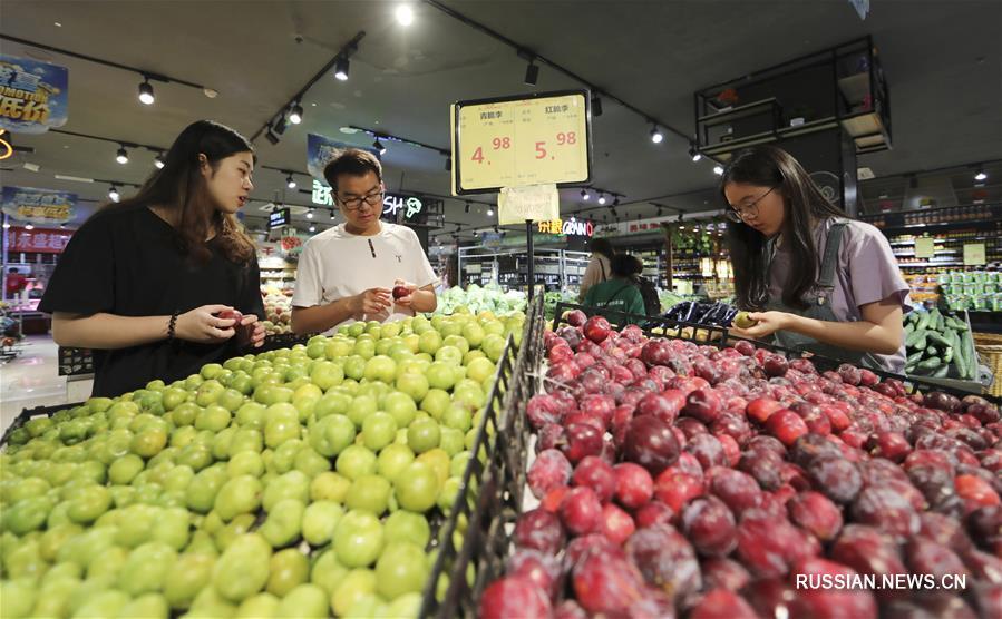 #(经济)(4)6月份全国居民消费价格同比上涨2.7%
