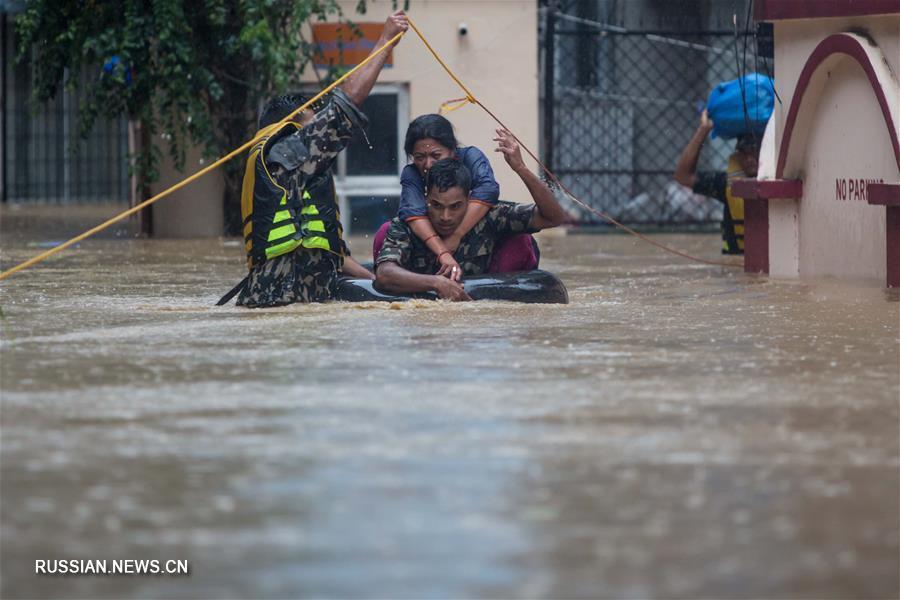 На Непал обрушились наводнения