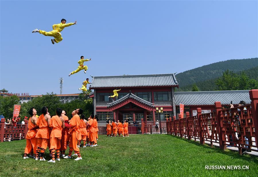 В монастыре Шаолинь открылся фестиваль боевых искусств
