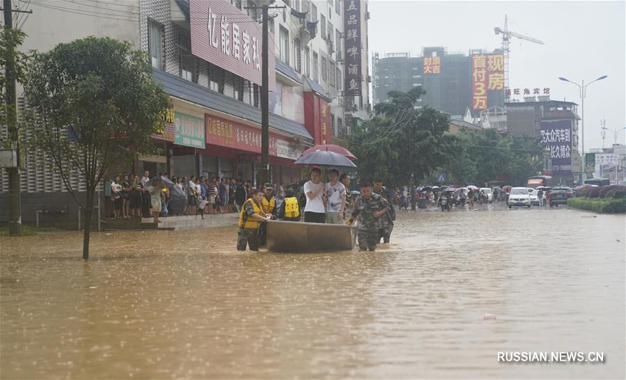 На север ГЧАР обрушились проливные дожди