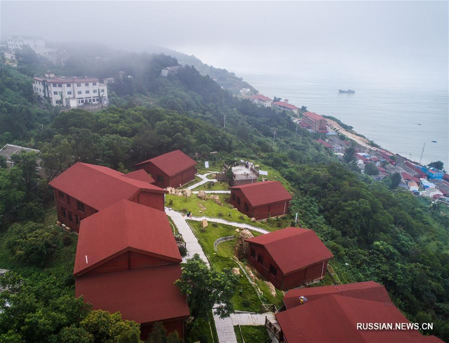 Гостевые дома на островном курорте в провинции Чжэцзян