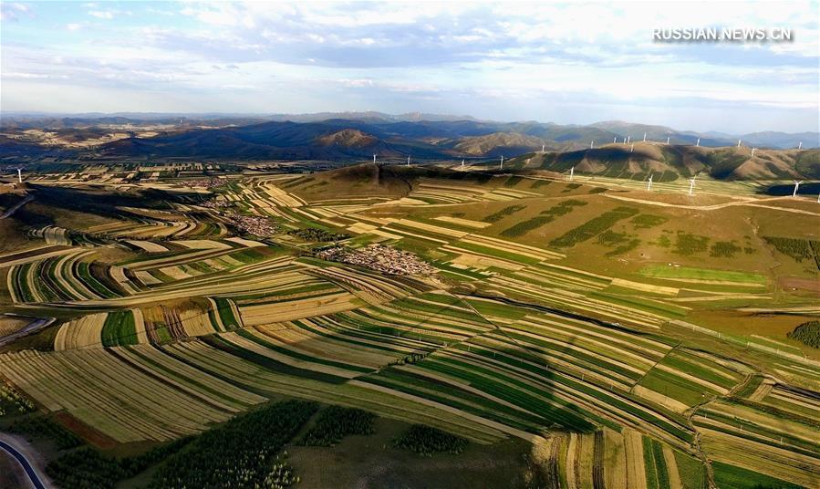 Осенние краски степи Башан
