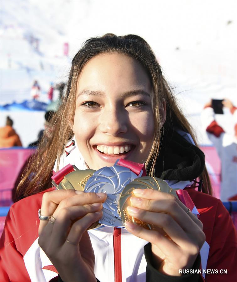 3-я зимняя юношеская Олимпиада -- Все медали Эйлин Гу