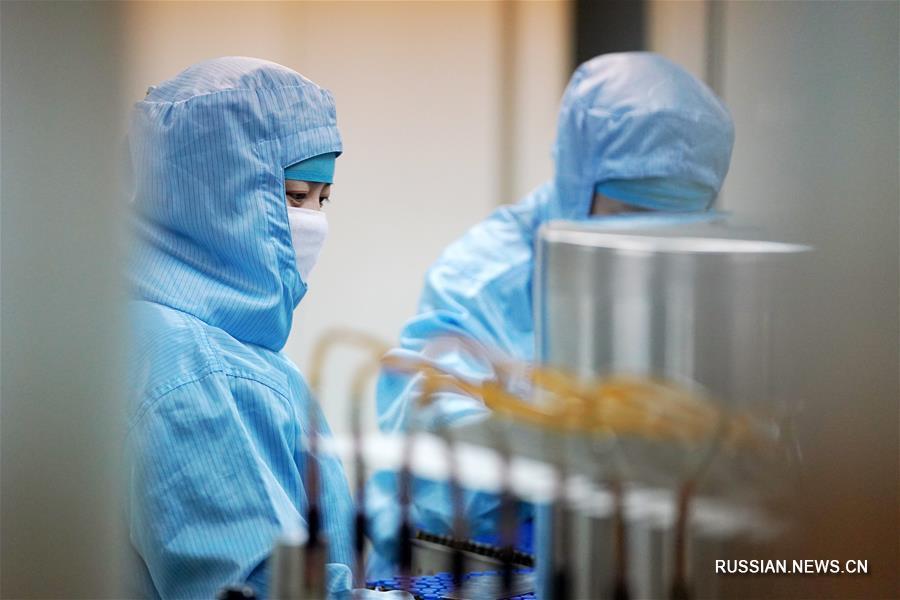 Борьба со вспышкой коронавирусной инфекции -- Предприятия Харбина возобновили работу