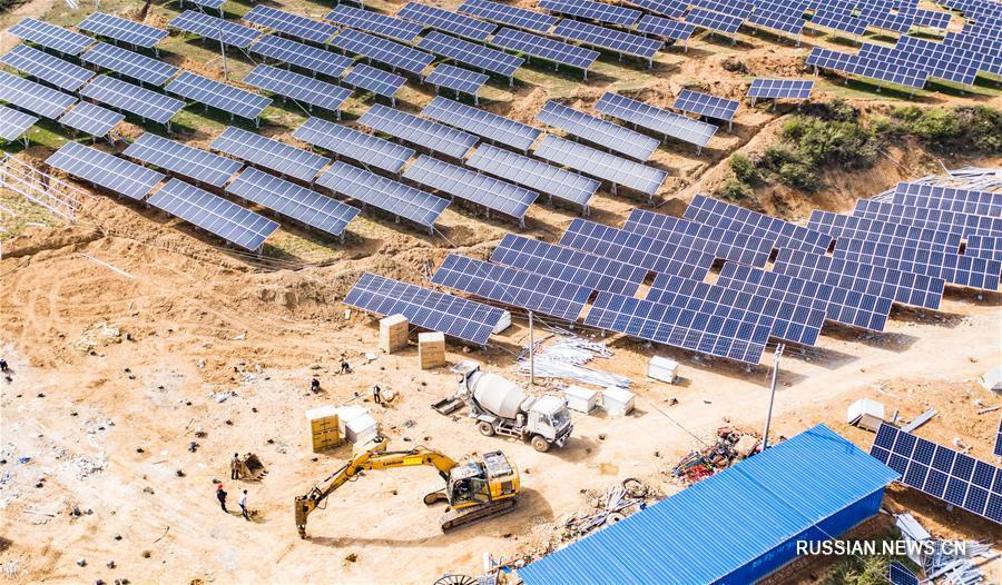 Общая мощность подключенных к электросети энергоблоков электростанций на новых источниках энергии в пров. Гуйчжоу превысила 10 млн кВт