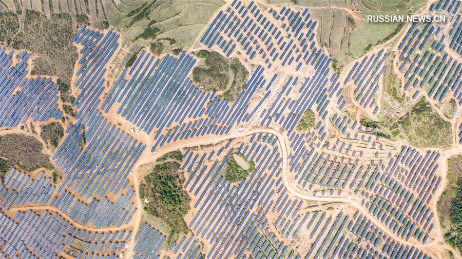 Совокупная установленная мощность электростанций на новых источниках энергии в провинции Гуйчжоу превысила 10 млн кВт