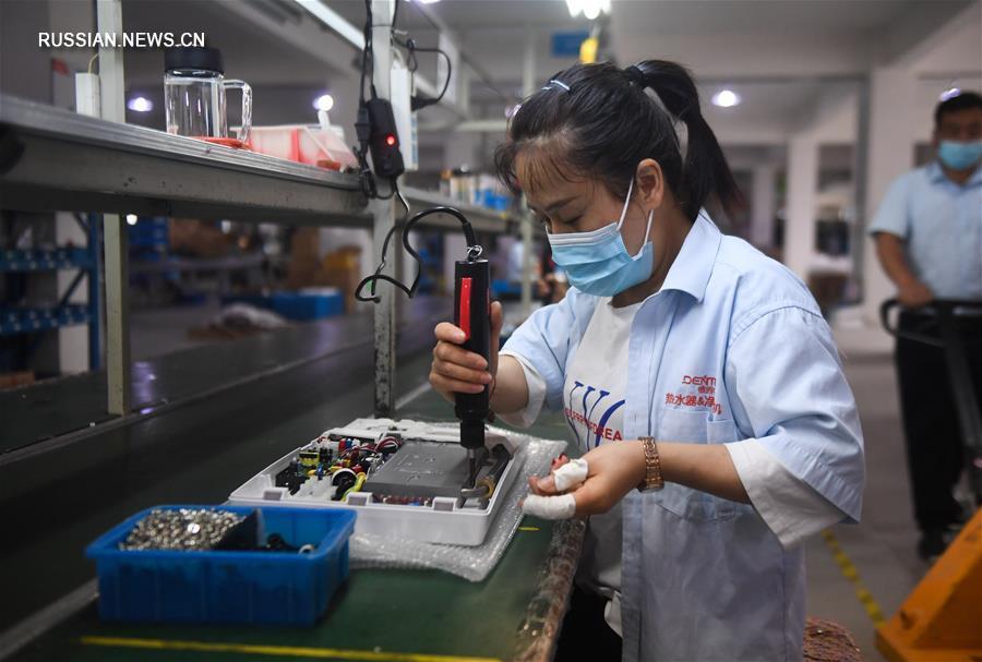Предприятия в провинции Чжэцзян стремятся нарастить производство и расширить рынок сбыта