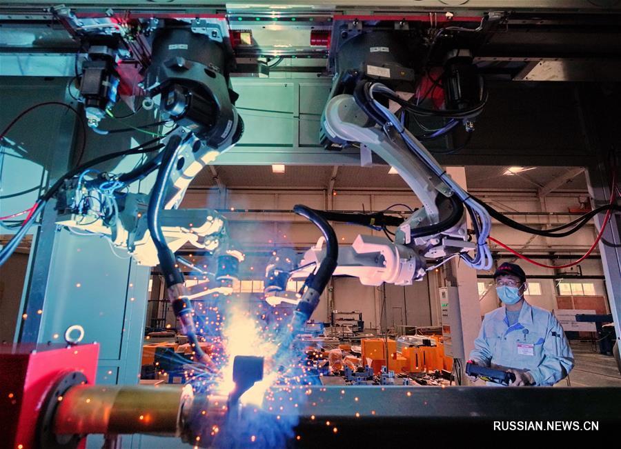 В Таншане ускоренными темпами развивается производство роботов