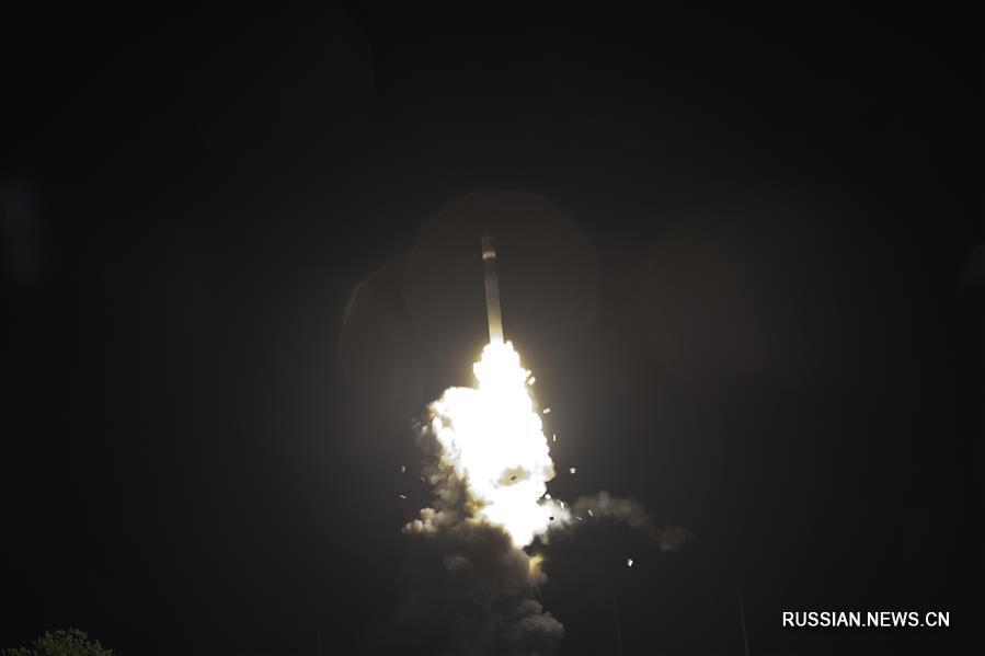 Китай успешно запустил 2 новых экспериментальных спутника