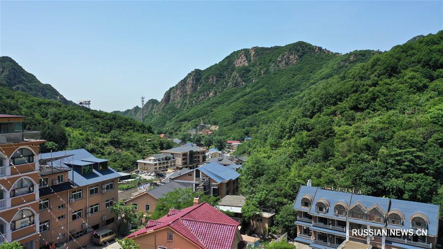 Деревня на севере Китая стремится к достижению интегрированного развития аграрного и туристического секторов
