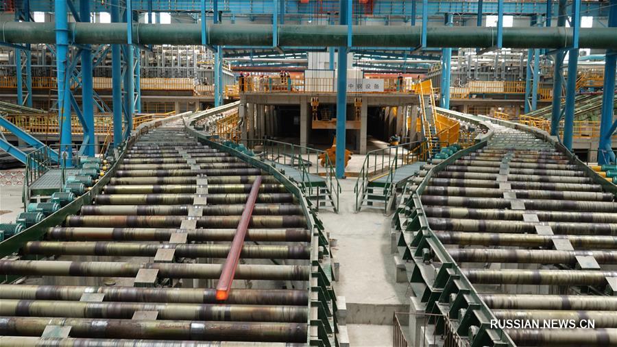 В Фанчэнгане запущена первая очередь новой металлургической базы