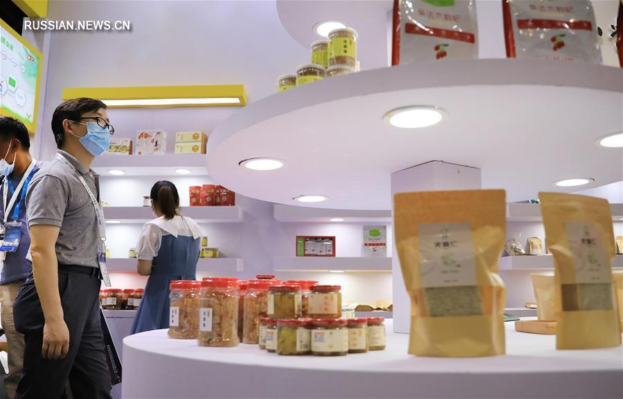 В Шанхае проходит Китайская международная ярмарка органической продукции-2020