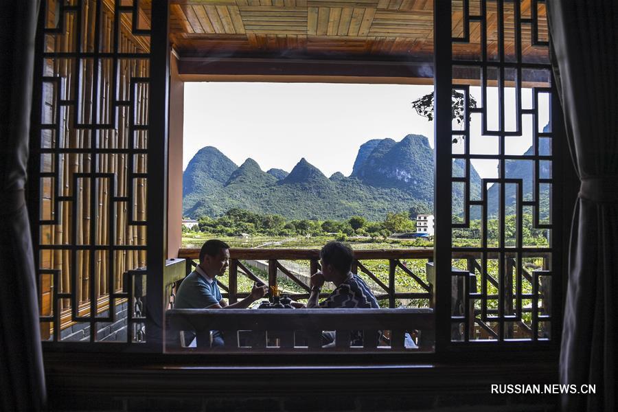 Элитные гостевые дома в уезде Яншо