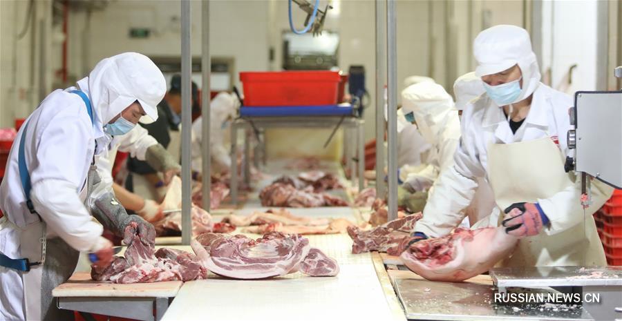 Пекинская компания Beijing Ershang Meat Food Group заботится об эпидемической безопасности мясной продукции