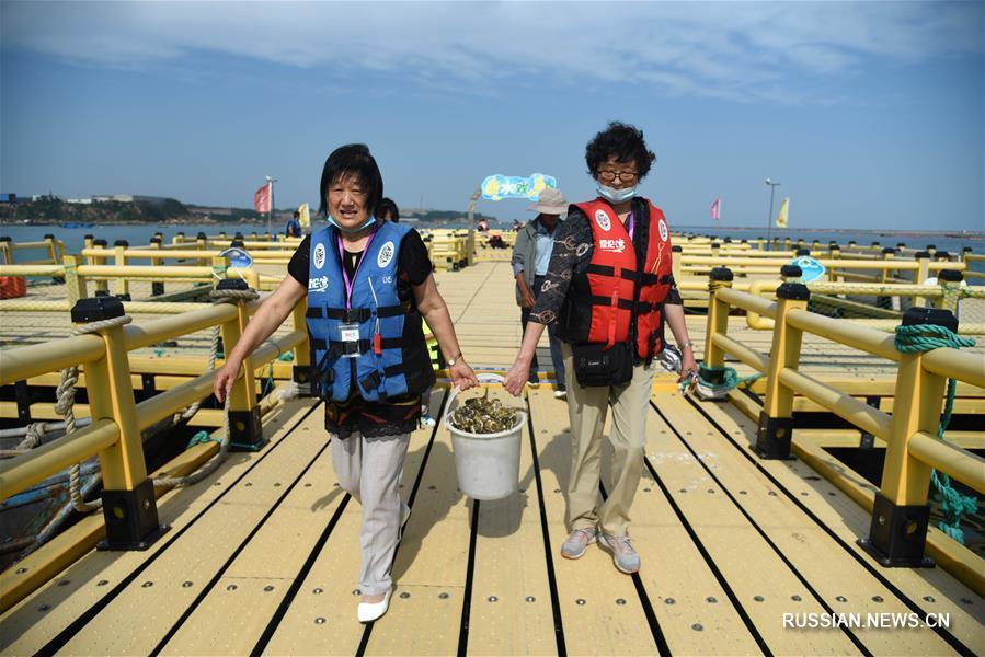 Туристический бум на морских фермах в Жунчэне