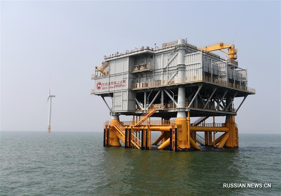 Первая морская ВЭС в провинции Хэбэй полностью введена в эксплуатацию