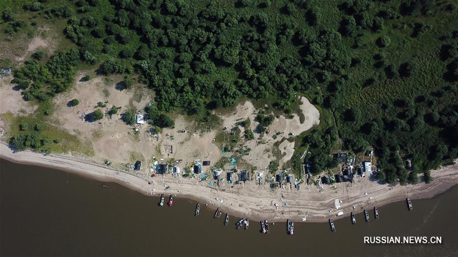 Будни нанайских рыбаков на реке Хэйлунцзян