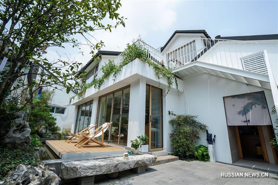 """""""Гусуский дворик"""" -- элитные гостевые дома в сучжоуском стиле"""