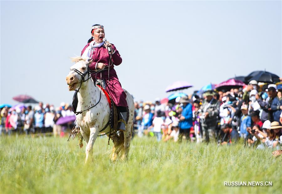 Фестиваль кочевой культуры Надом в Шилин-Хото