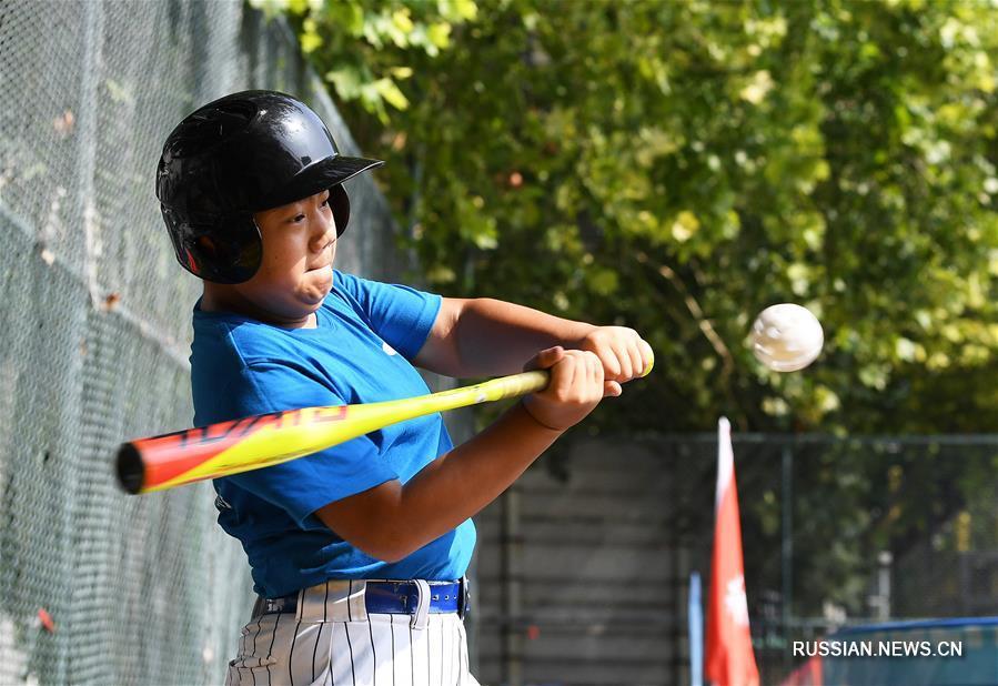 Здоровье нации -- Юные бейсболисты из Цзинаня