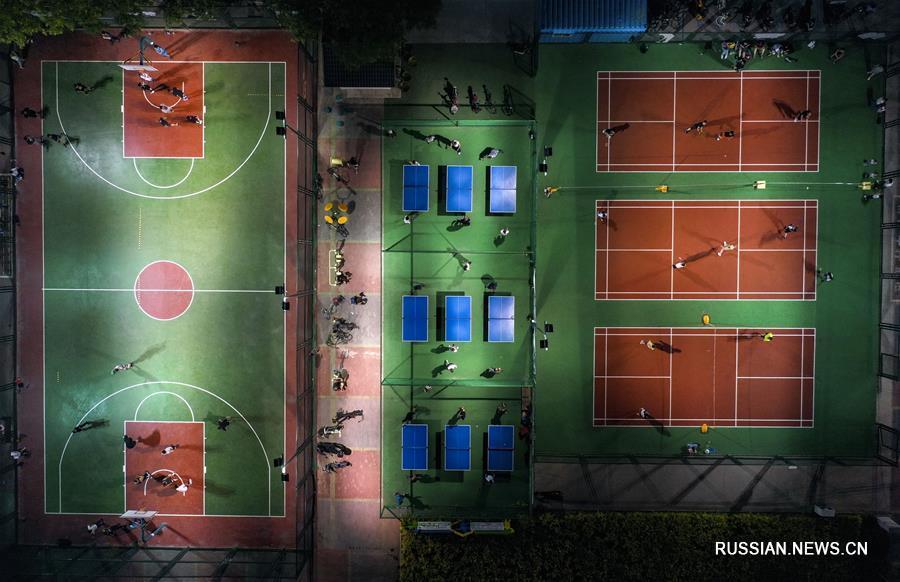 Около миллиона жителей Иньчуаня регулярно занимаются спортом