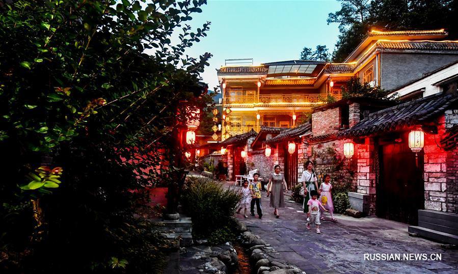 Жители гор Циньлин и Дабашань распрощались с бедностью