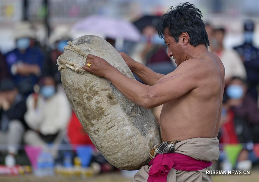 Фестиваль конных скачек в Нагчу -- Не только кони