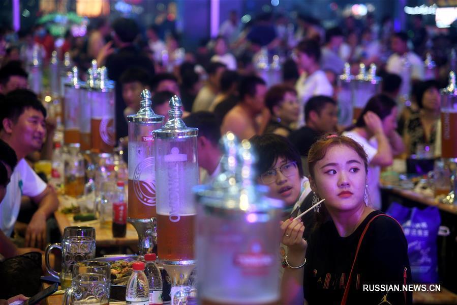 30-й международный фестиваль пива закрылся в Циндао