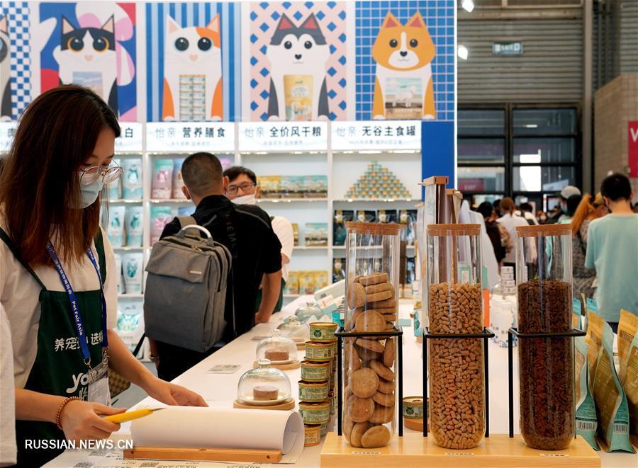 В Шанхае открылась 23-я Азиатская выставка домашних питомцев