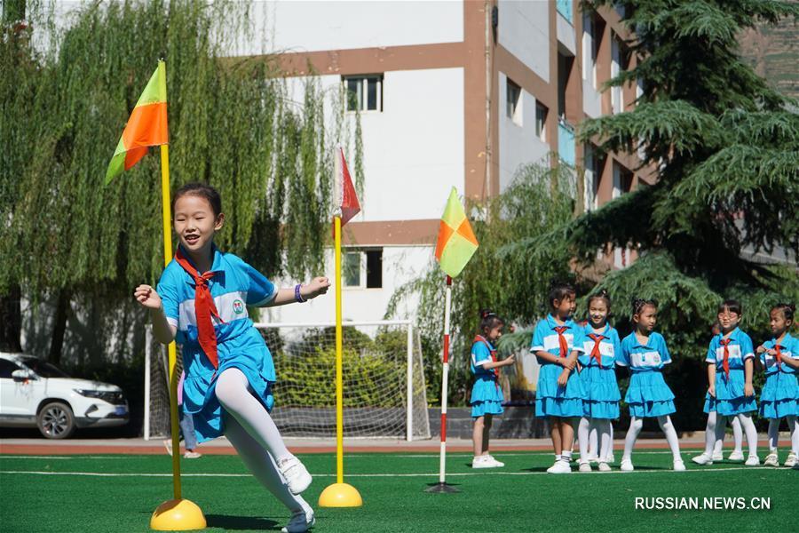 Начало учебного года в городе Луннань