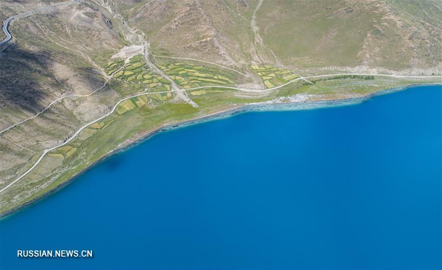 Завораживающая красота тибетского озера Янху