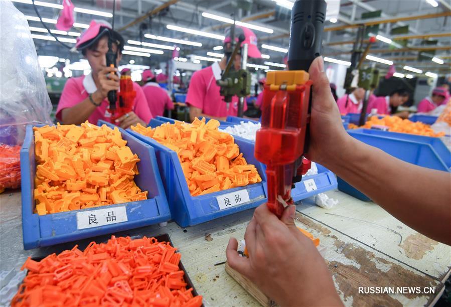 """""""Столица игрушек"""" в Шаньтоу ищет новые пути выхода из трудностей"""