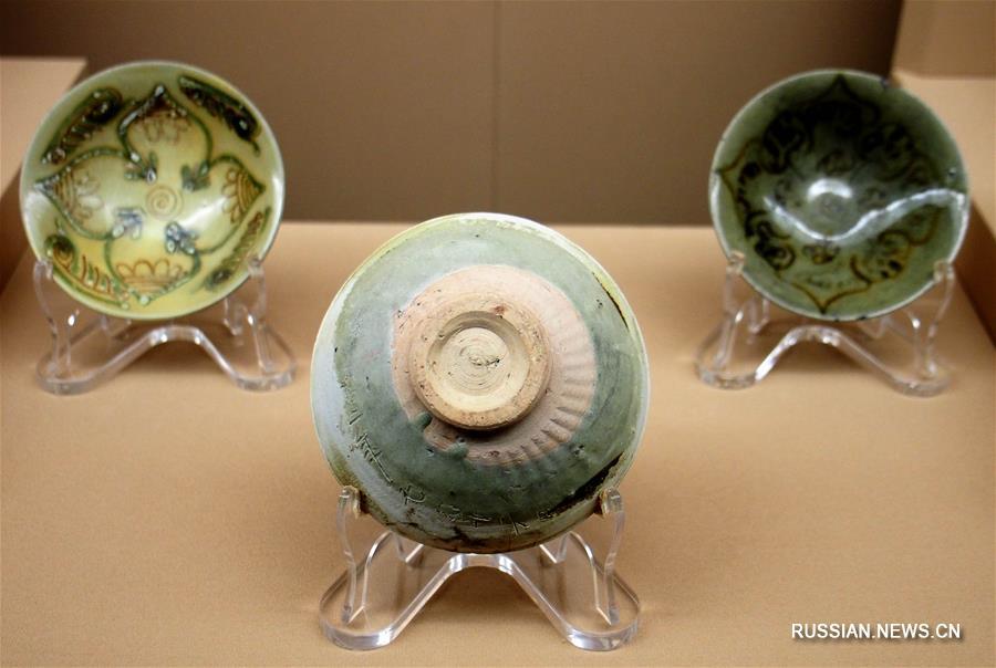 В Шанхае открылась выставка сокровищ с затонувшего корабля эпохи династии Тан