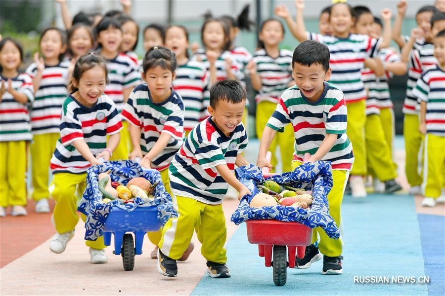 Праздник богатого урожая в Китае все ближе