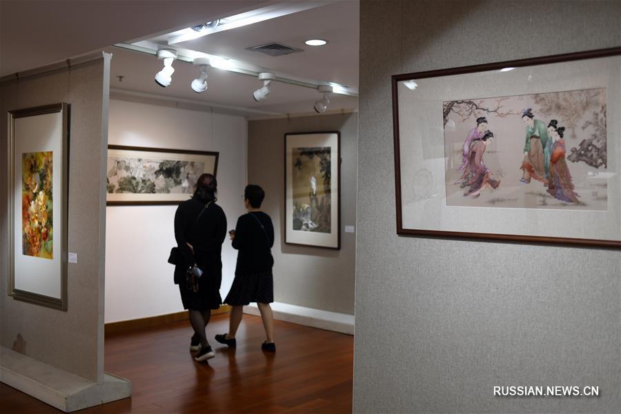 В Пекине открылась выставка сучжоуской вышивки