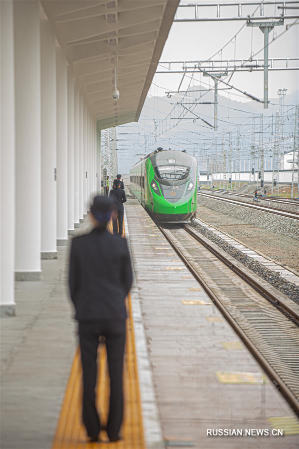 Введена в эксплуатацию железная дорога Цюйчжоу -- Ниндэ