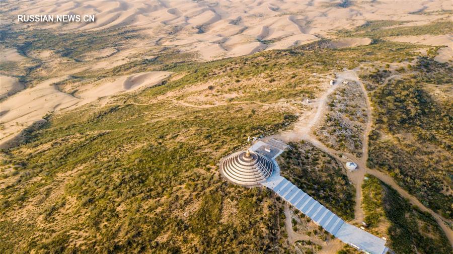 Возрождение пустыни Кузупчи -- вклад Китая во всемирную борьбу с опустыниванием