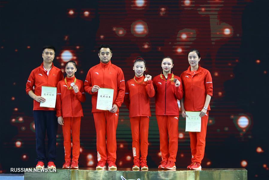 Спортивная гимнастика -- Всекитайское первенство -- 2020: финал вольных упражнений среди женщин