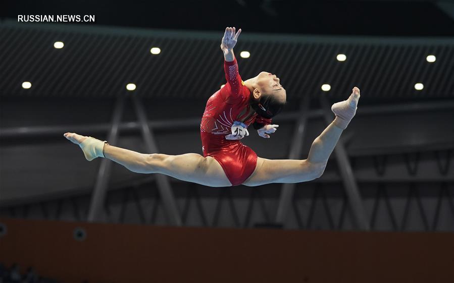 Спортивная гимнастика -- Всекитайское первенство -- 2020: бревно, финал