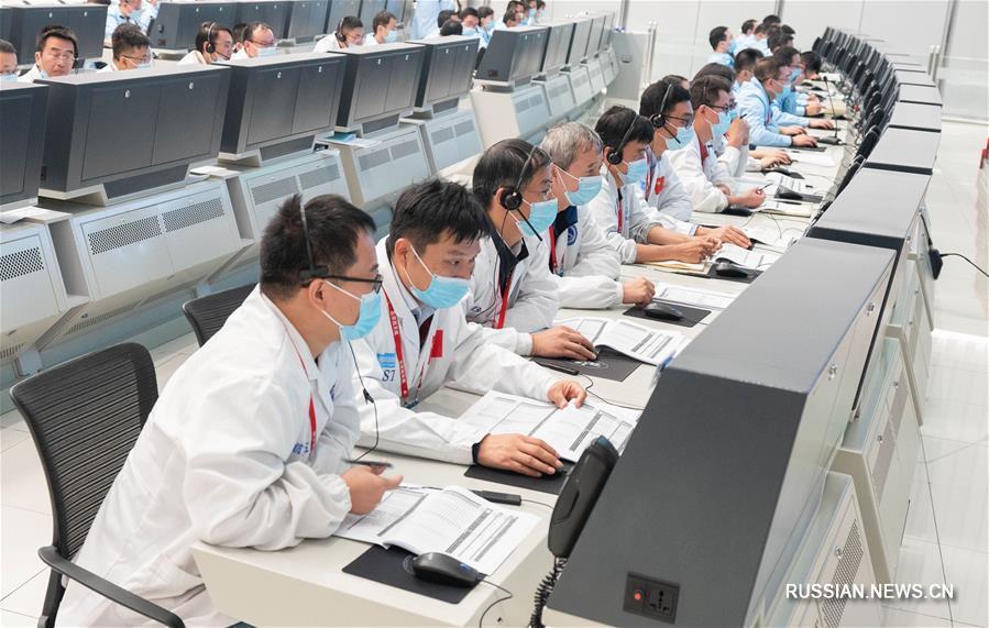 """Зонд """"Тяньвэнь-1"""" успешно выполнил маневр в глубоком космосе"""