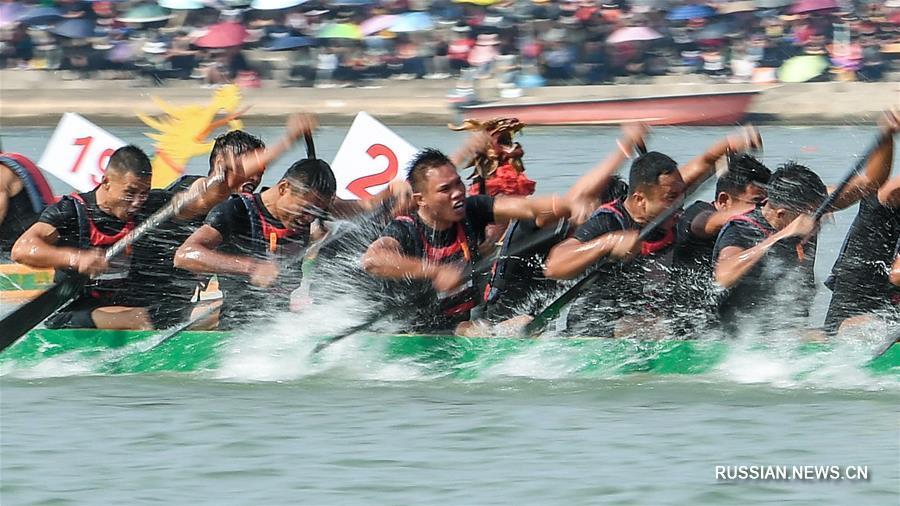 В Гуанси завершилась 21-я Жунъаньская большая регата лодок-драконов