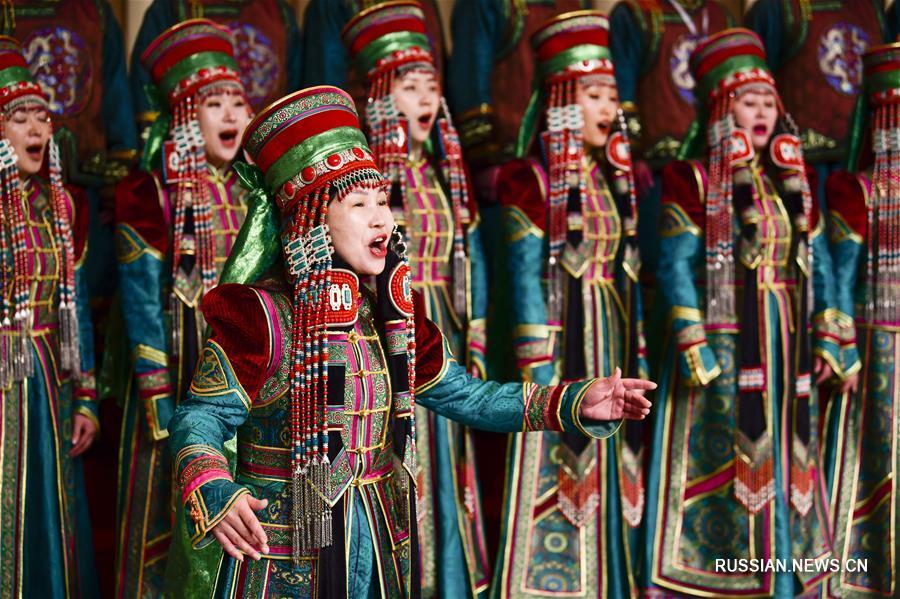 Конкурс хорового пения в аймаке Алашань