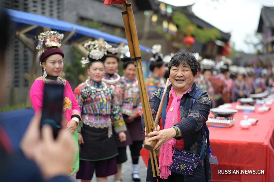 В провинции Гуйчжоу открылась 1-я Даньчжайская неделя нематериального культурного наследия