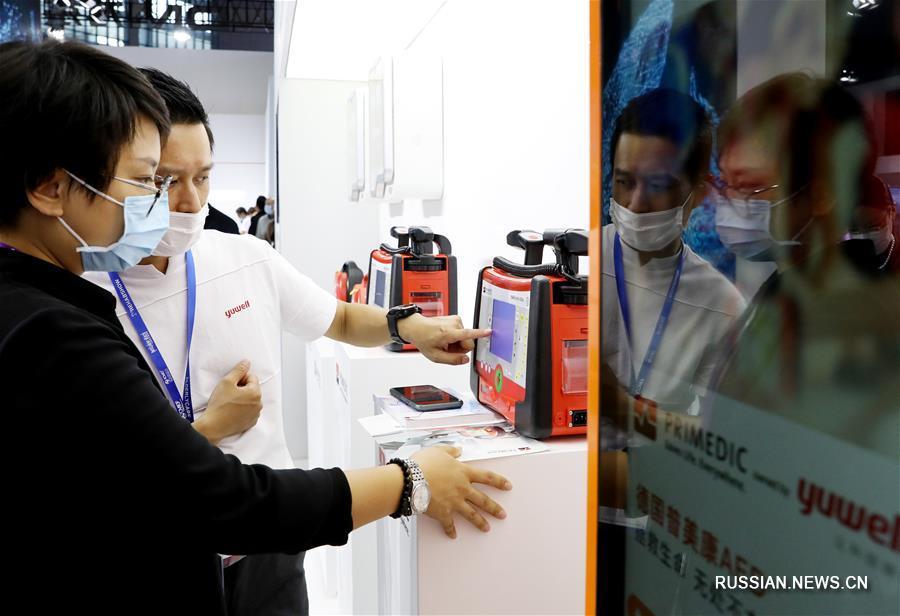 В Шанхае открылась выставка медтехники
