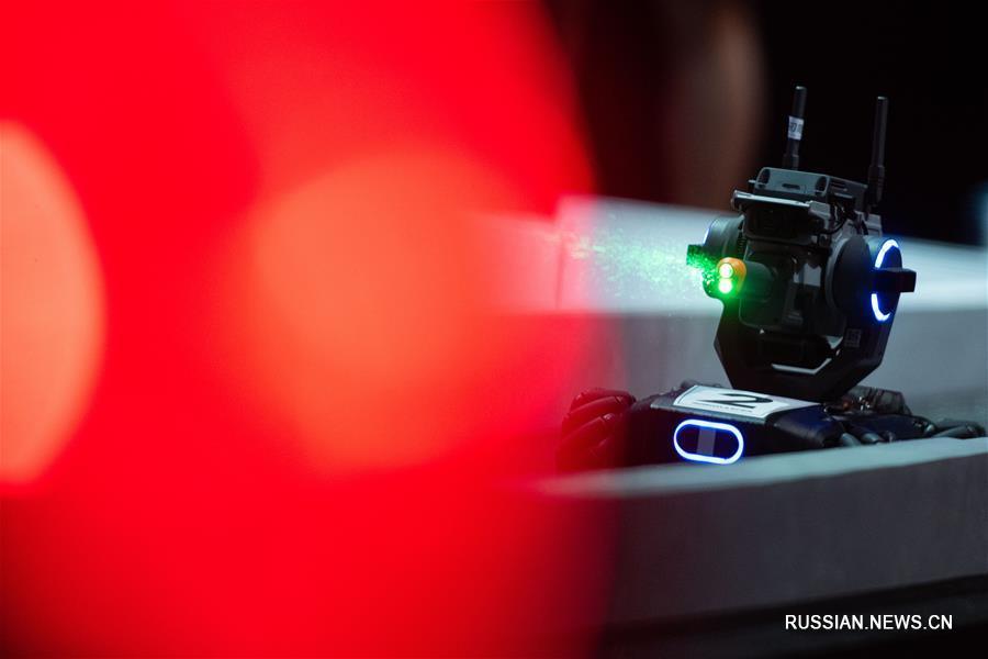 Детско-юношеский конкурс роботов RoboMaster 2020 в Аомэне