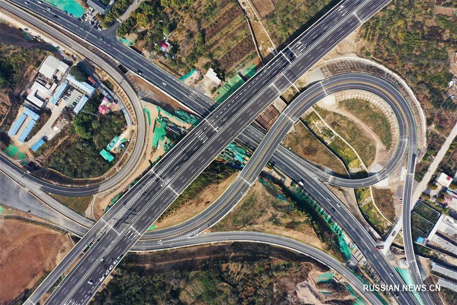 Скоростная автомагистраль Цзинань -- Тайань готовится к открытию