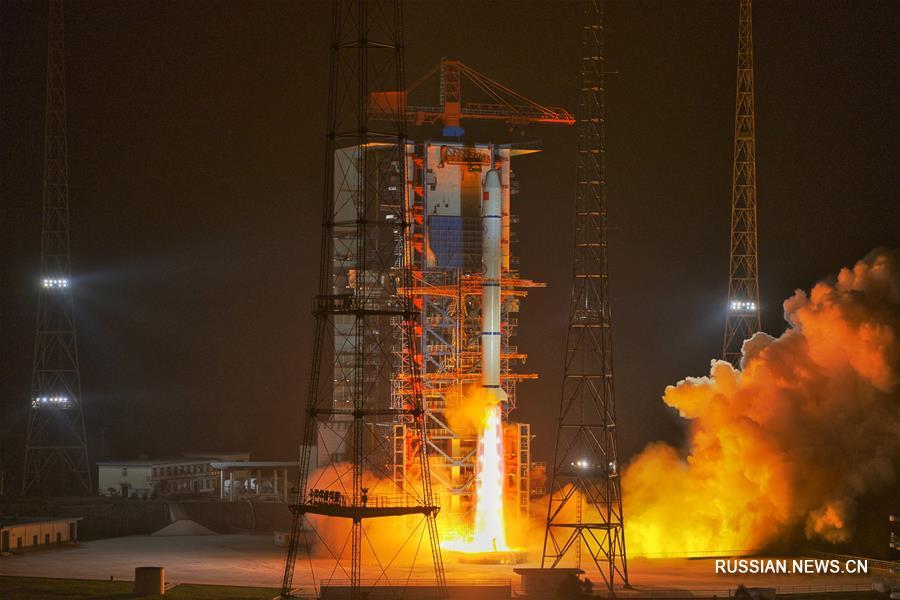 """Китай успешно запустил спутники дистанционного зондирования """"Яогань-30"""""""