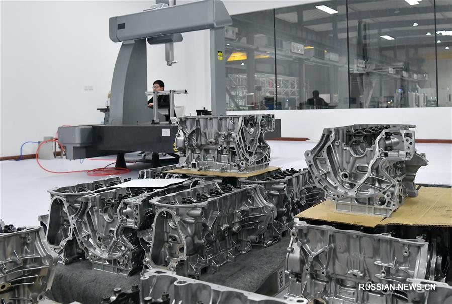 """""""Умное производство"""" выводит промышленность города Цзаочжуан на новую высоту"""