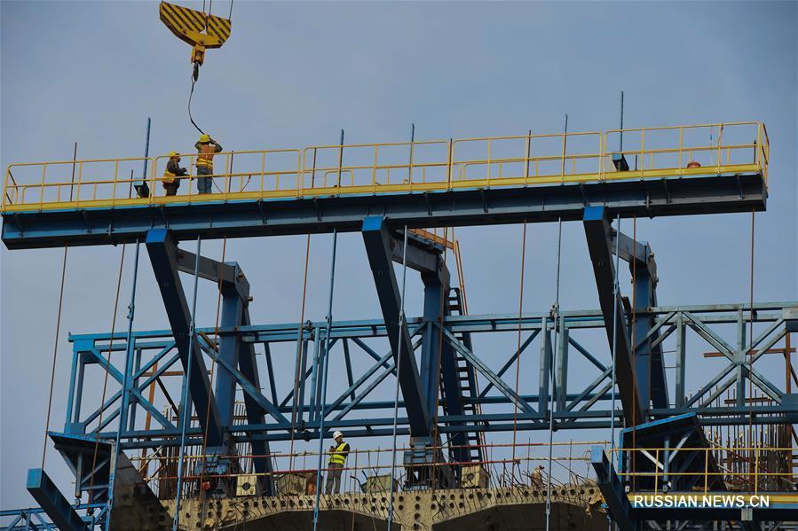 Строительство скоростной железной дороги через морской залив в провинции Фуцзянь