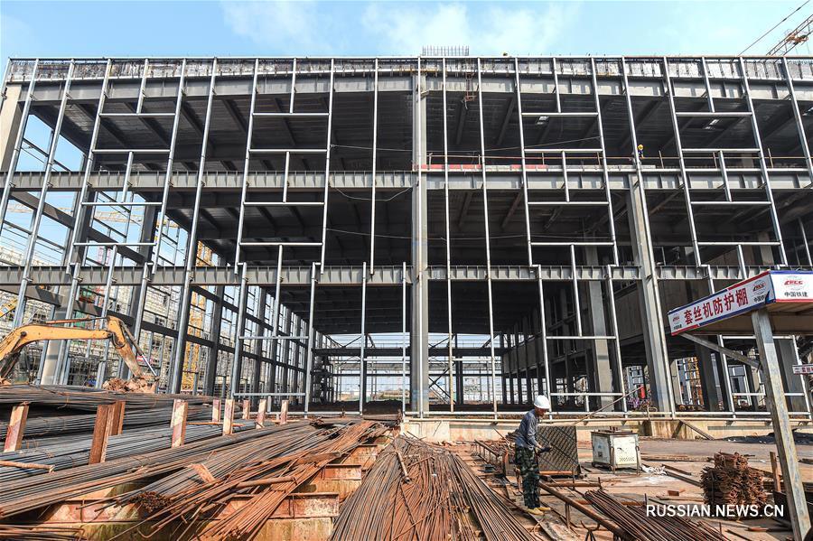 Строительство базы обслуживания самолетов в Хайкоу